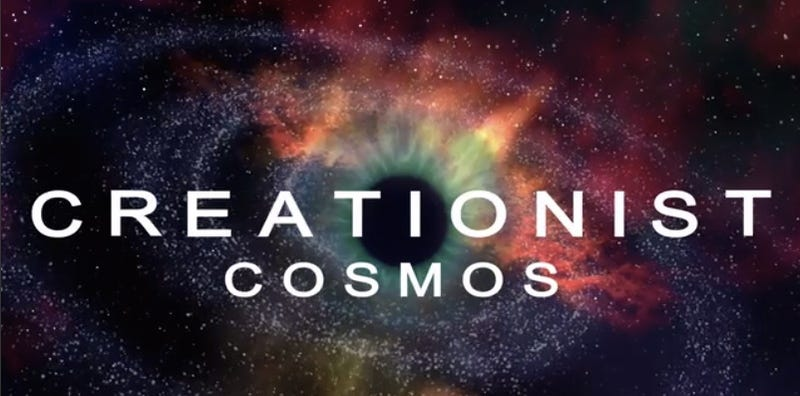 "Illustration for article titled ""Creationist Cosmos"" Reveals The Truths Regular Cosmos Won't Tell You"