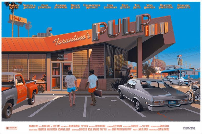 Illustration for article titled This Pulp Fiction Art is the only Black Friday Deal I need