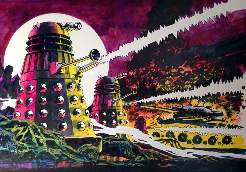 Illustration for article titled 20 Doctor Who Stories That Are Based On Real Science