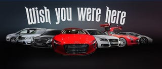 Illustration for article titled 2009 Frankfurt Motor Show: Postcard From Day One