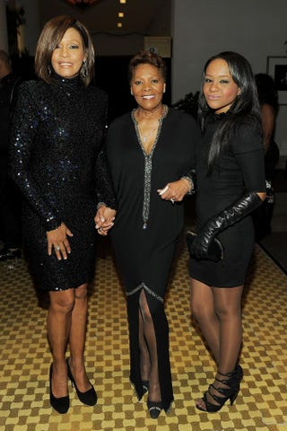Whitney Houston, Dionne Warwick and Bobbi Kristina Brown in 2011Larry Busacca/Getty Images For The Recording Academy