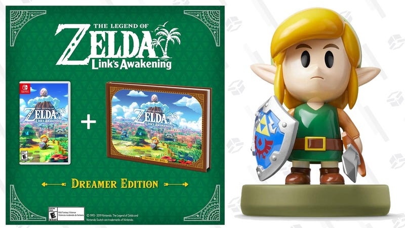 Preorder The Legend of Zelda Link's Awakening Dreamer Edition | $70 | Amazon | Also at GameStopPreorder The Legend of Zelda Link's Awakening amiibo | $16 | Amazon | Also at Best Buy