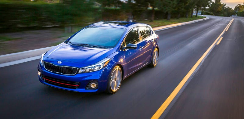 Illustration for article titled The Kia Forte5 Is The Value Packed Warm Hatch That You Weren't Even Aware Of