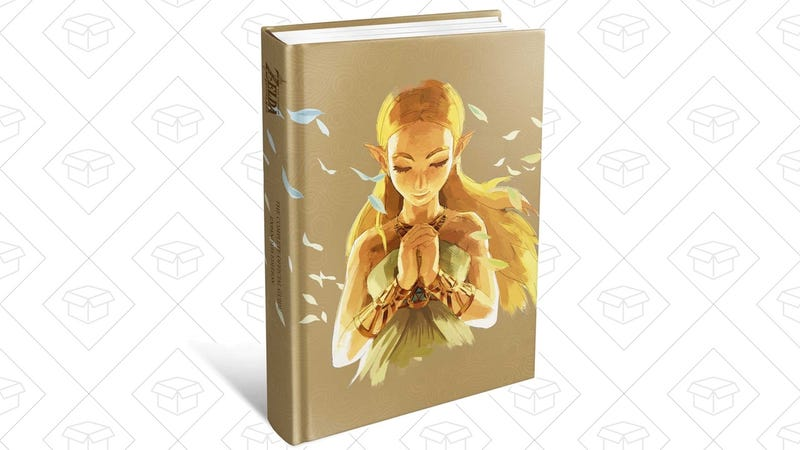 Preorder The Legend of Zelda: Breath of the Wild Expanded Official Guide | $24 | Amazon