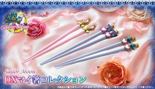 Illustration for article titled Here, Have Some Official Sailor Moon Chopsticks