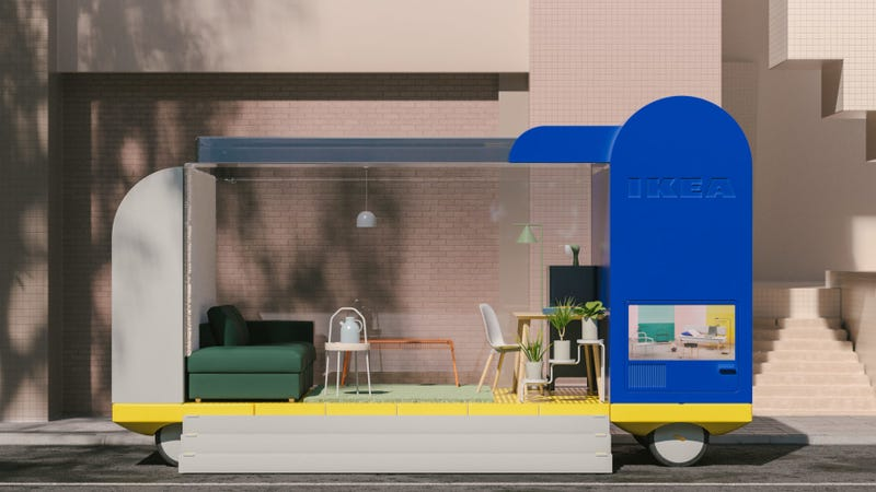 Illustration for article titled Ikea Has 7 New Autonomous Driving Concepts To Waste Your Time In Traffic