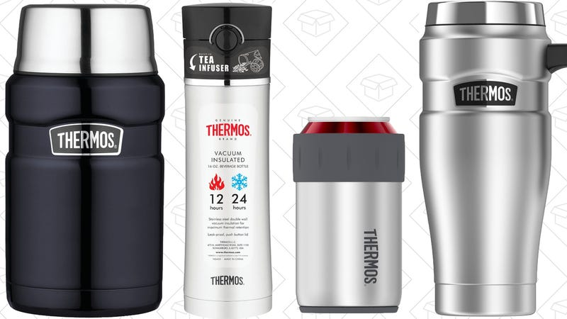 Thermos Gold Box