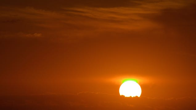 How to Spot the Mythical Green Flash (Which Is Actually Very Much Real)