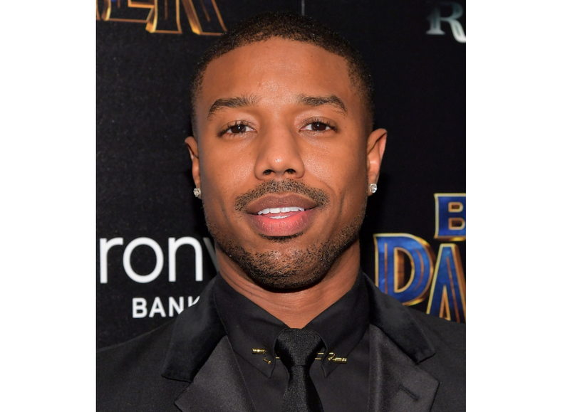 Actor Michael B. Jordan attends the screening of Marvel Studios' Black Panther hosted by the Cinema Society on Feb. 13, 2018, in New York City. (Roy Rochlin/Getty Images)