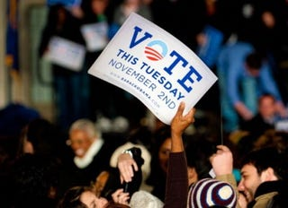 Rally Attendees in Philadelphia (Jeff Fusco/Getty Images)