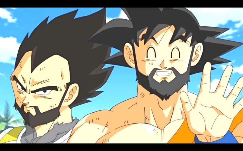 Illustration for article titled Bearded Saiyans Oppo