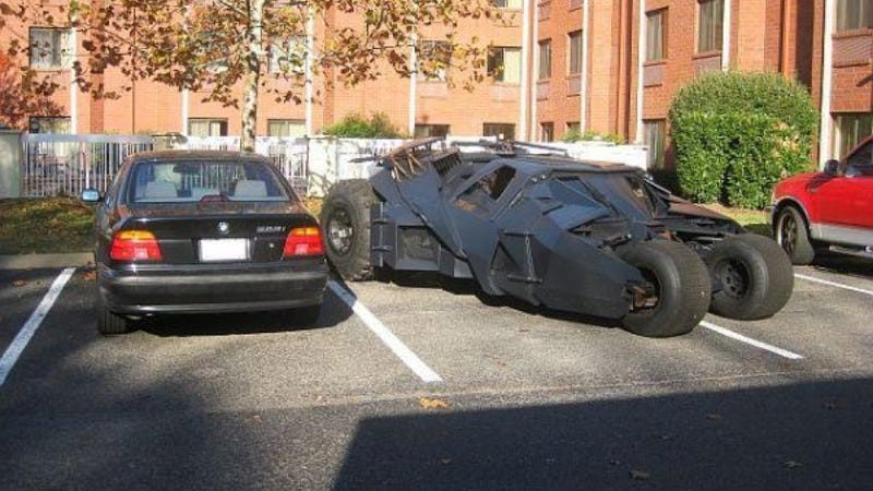 this craigslist bmw is parked next to a batmobile with no explanation given. Black Bedroom Furniture Sets. Home Design Ideas