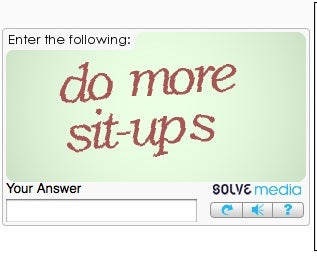 Illustration for article titled STFU Captcha!!!