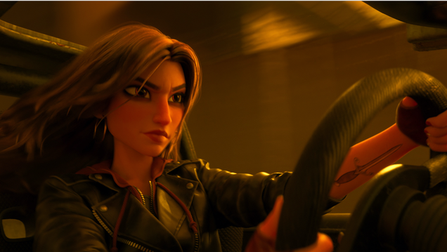 Watch Gal Gadot Get Fast and Furious as Vanellope's Speed Racer Mentor in Ralph Breaks the Internet