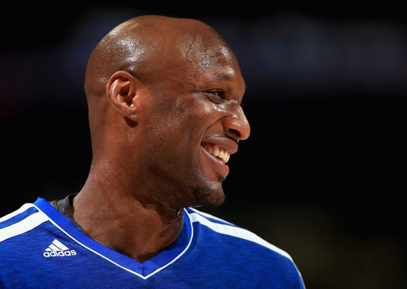 """Illustration for article titled Report: Lamar Odom Opened His Eyes And Said """"Good Morning"""""""