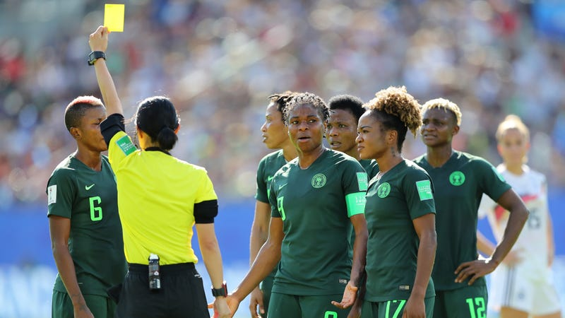 Illustration for article titled Lisa Byington And Cat Whitehill Bust Out Lazy Tropes About African Teams For Their Germany-Nigeria Commentary