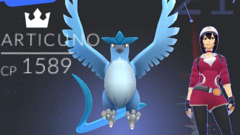 Nadie sabe cómo atrapó esta mujer al primer Pokémon legendario de Pokémon Go [actualizado]