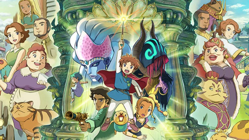 Illustration for article titled Ni No Kuni's Remaster Is Looking Beautiful, Of Course