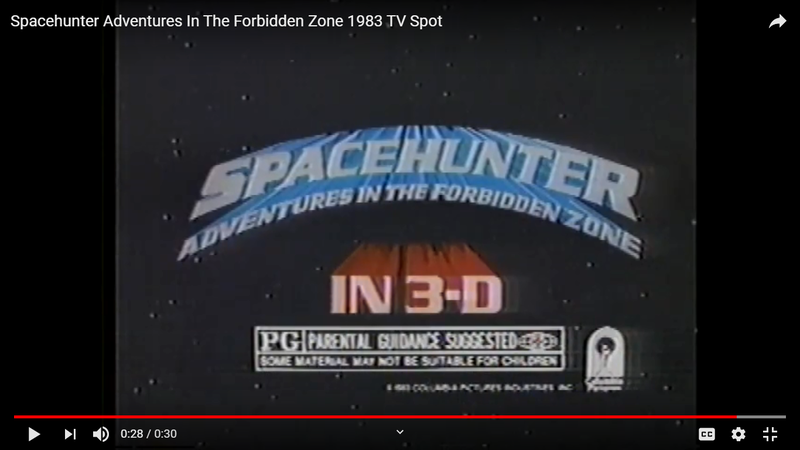 Illustration for article titled Spacehunter: Adventures in the Forbidden Zone (1983)