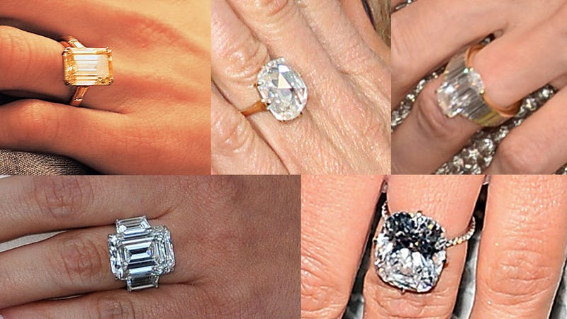 Illustration for article titled How Well Do You Know Your Celebrity Engagement Rings?