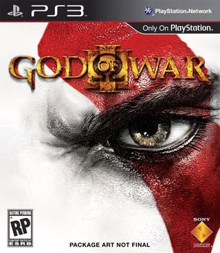 Illustration for article titled This God of War III Box Art Is Not Final
