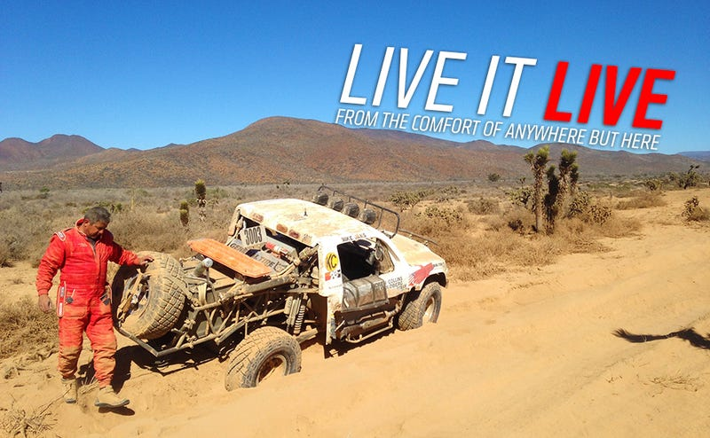 Illustration for article titled I'm On An Epic Week-LongOff-Road Adventure And You Can Watch It Live Right Now