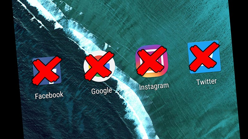 How to delete your online existence but save all your data image screenshotgizmodo ccuart Gallery