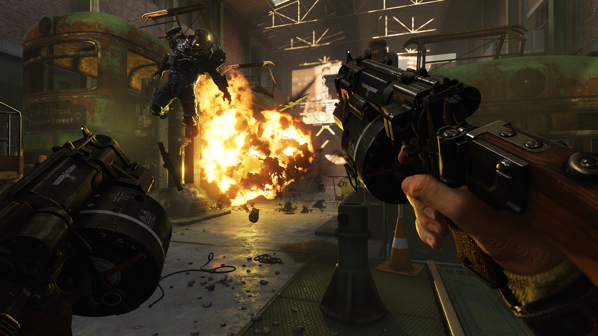 Wolfenstein II gets so much better when you play on easy mode