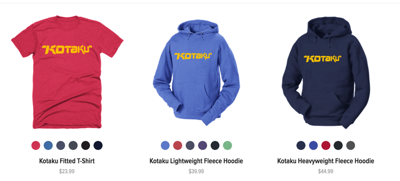 Illustration for article titled The Kotaku Store Is Now Open