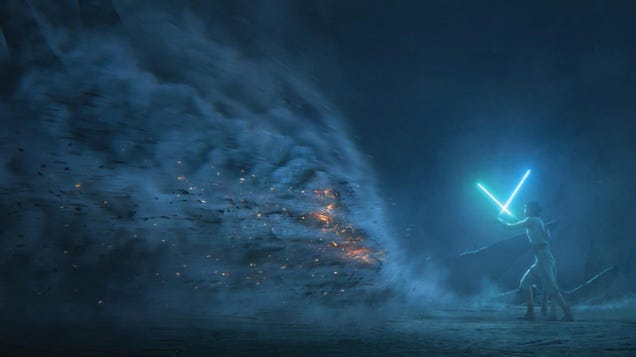 The Ending of The Rise of Skywalker Gets Some Stunning Concept Art