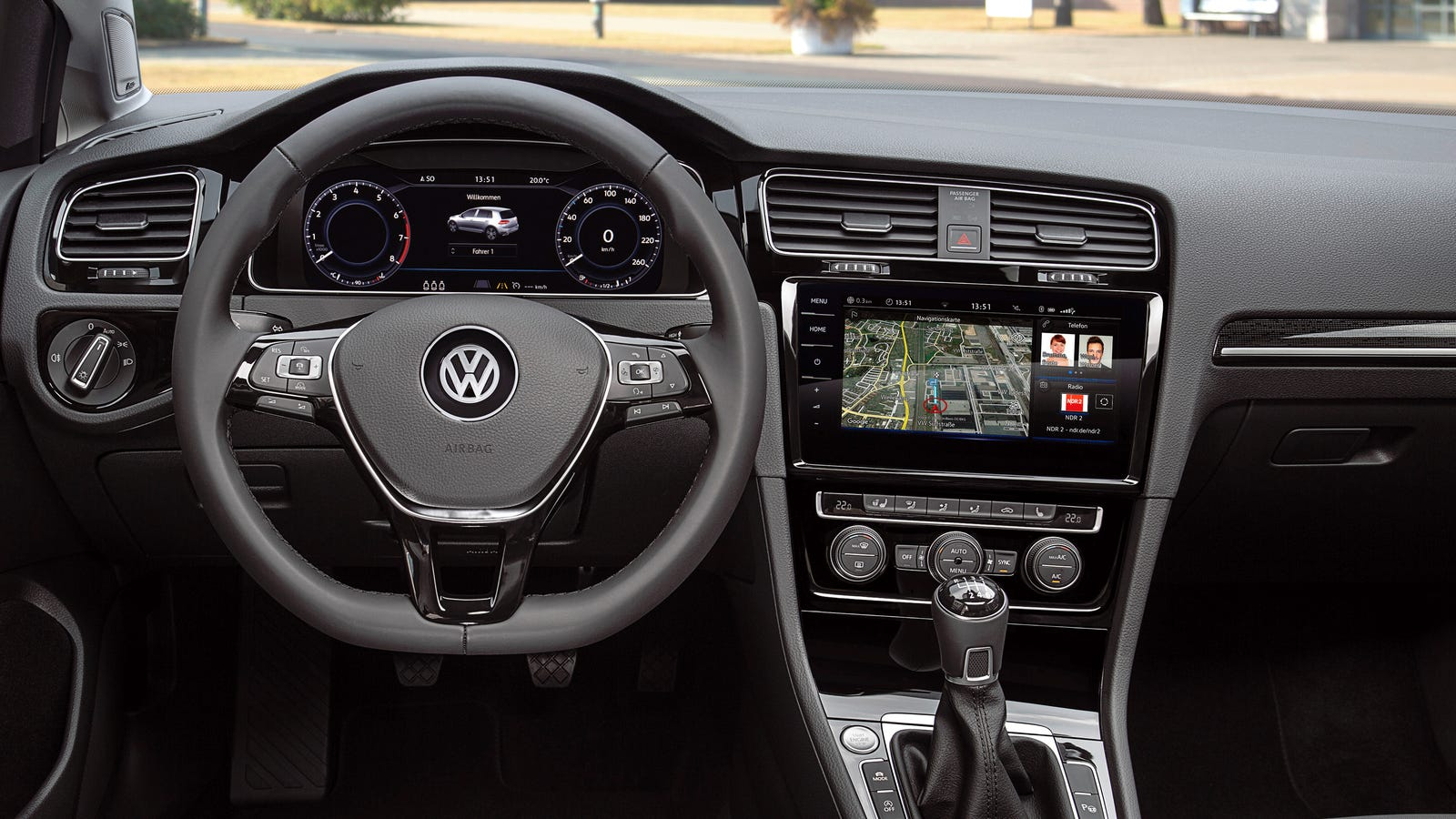 the 2018 volkswagen gti just got an incredibly high tech. Black Bedroom Furniture Sets. Home Design Ideas