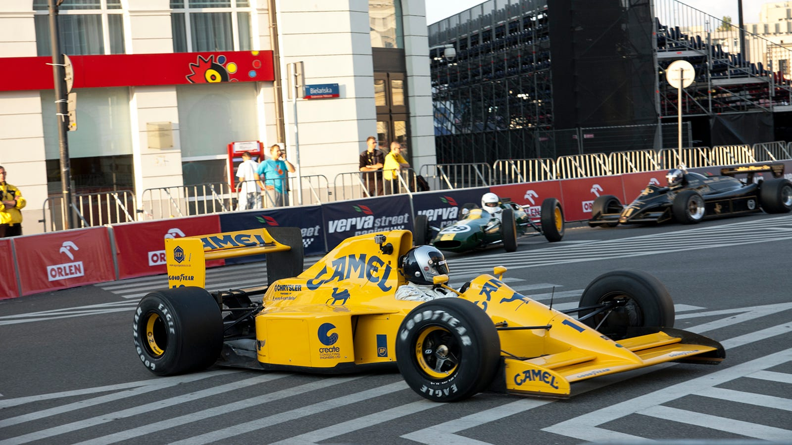Spectacular Collection Of Race Cars Take Over Poland