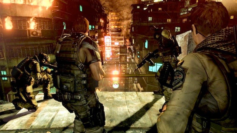 Illustration for article titled Resident Evil 6 To Get Three New Multiplayer Modes As Paid DLC