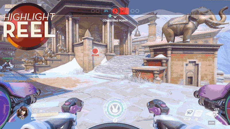 Overwatch Player Makes A Terrible Mistake