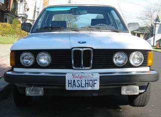 Illustration for article titled 1983 BMW 320i With Rare David Hasselhoff Option