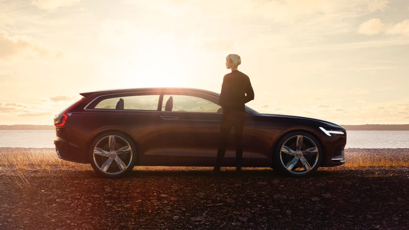 Illustration for article titled The Volvo Concept Estate Is An Unfathomably Gorgeous Shooting Brake