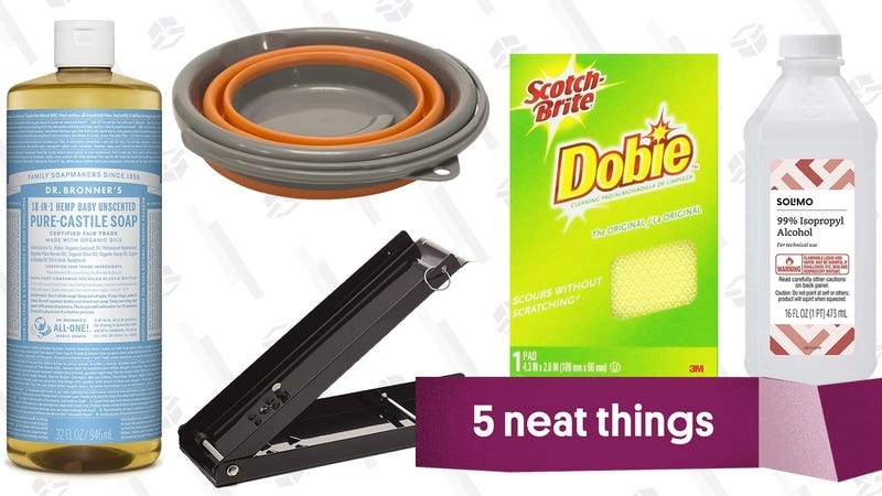 Illustration for article titled Five Great Products For All Your Camping Cleanup Needs