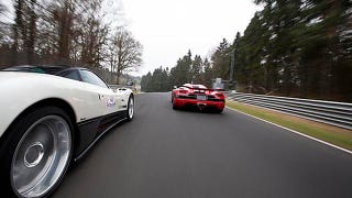 Illustration for article titled Koenigsegg Agera R Hits 250 MPH On The Nürburgring