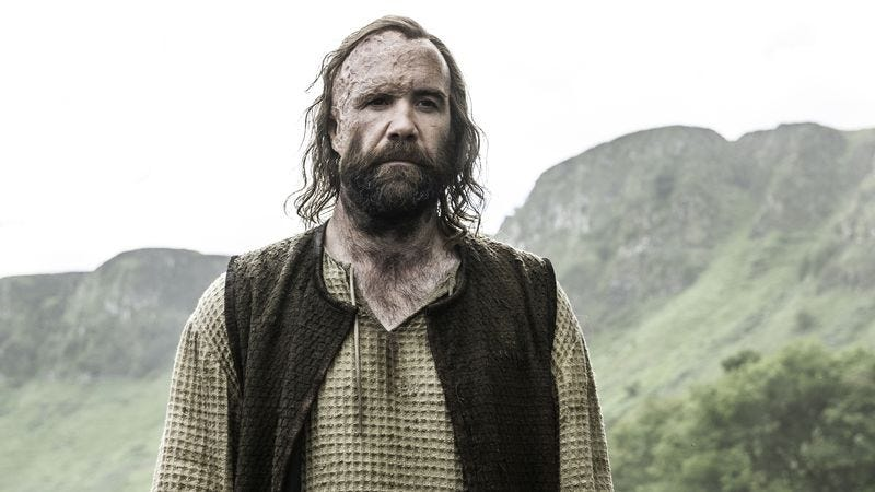 Sandor Clegane, a.k.a. The Hound, joins the ranks of characters back from the dead. (Photo: Helen Sloan/HBO)