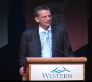 Western Washington University President Bruce ShepardYouTube screenshot