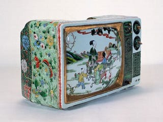 Illustration for article titled Ceramic TV is more High Art than High Definition