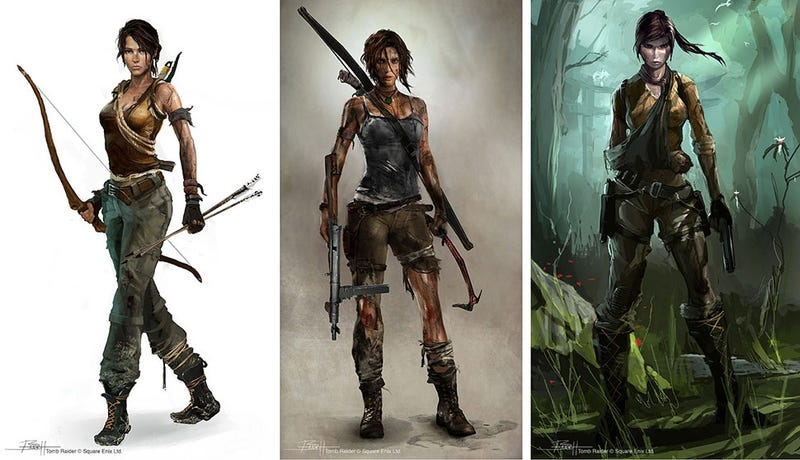 Illustration for article titled What The New Lara Croft Could Have Looked Like