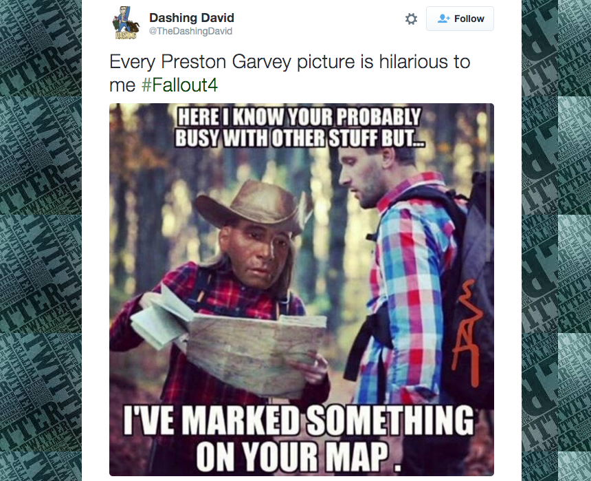 nxxpzhtjybdwfkp1zm9f the internet loves making fun of fallout 4's preston garvey