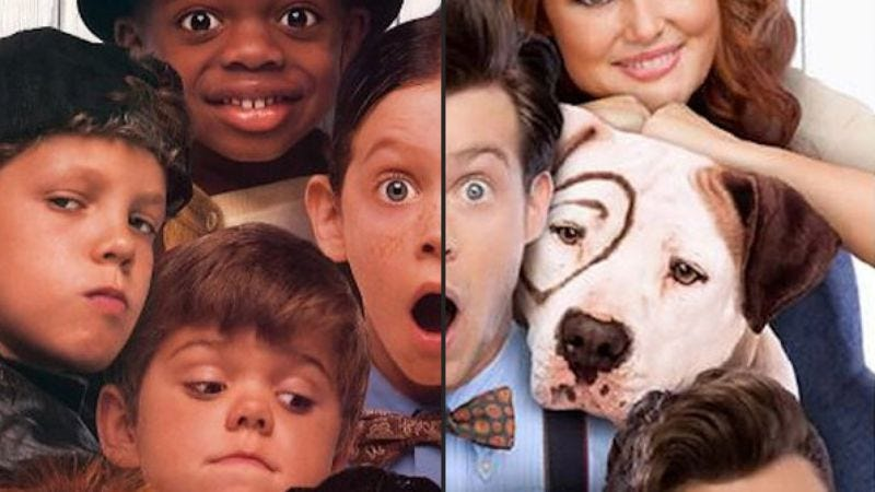 Illustration for article titled Apparently, it was time to reunite the cast of that Little Rascals remake
