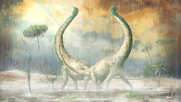 Newly Discovered African Titanosaur Had a Distinctly Heart-Shaped Tailbone