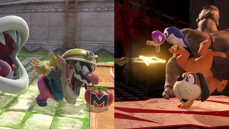 Illustration for article titled A Dog, A Duck, And A Wario Walk Into A Smash Tournament...
