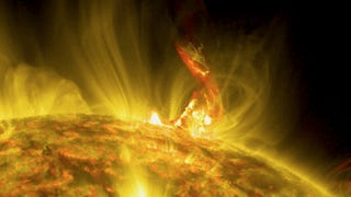 Watch as the Sun Spews a Massive Arch of Fire and Gas Into Space
