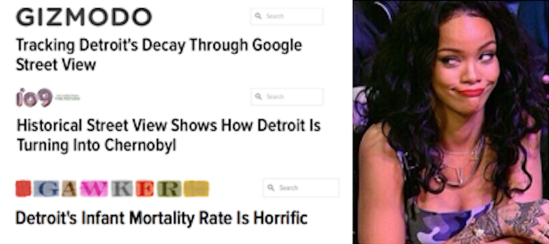 Illustration for article titled What Those Viral 'Decay' Photos Got Wrong About Detroit