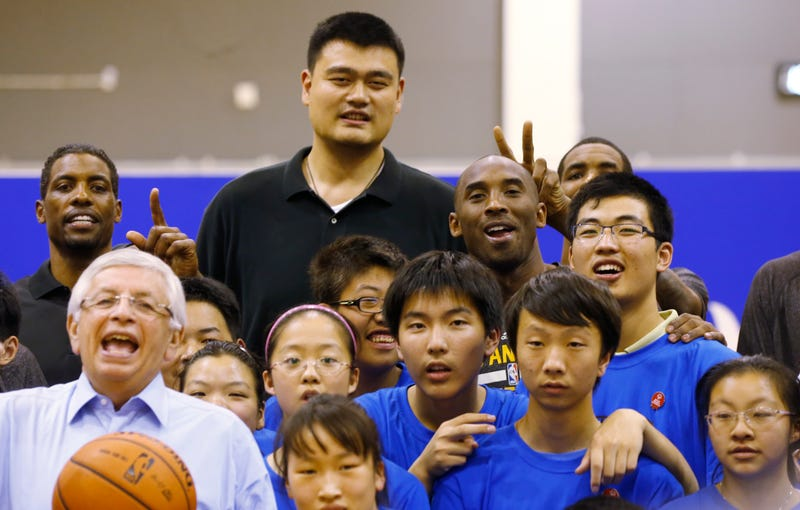 Illustration for article titled Yao Ming Is Living The College Life