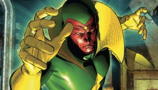 Illustration for article titled Behold! A Much Better Look At Avengers 2's Vision In The Robot Flesh